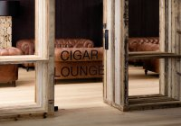 Alpina Dolomites - cigar lounge